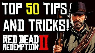 Red Dead Redemption 2 - TOP 50 BEST TIPS & TRICKS!