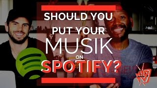 How Much Is Spotify Paying Artists? | MUSIK !D TV EP #01