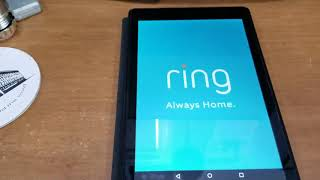How To Amazon Fire HD 8 Tablet Ring Doorbell Display and Dakboard Kiosk