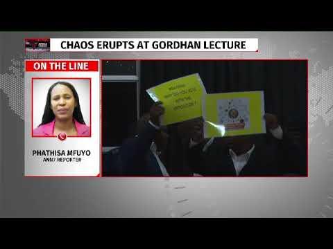 Edward Zuma interrupts Pravin Gordhan's speech