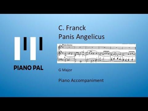 Panis Angelicus C. Franck Accompaniment Pianopa