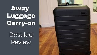 Away Carry-on Luggage Review - Is it worth $225?