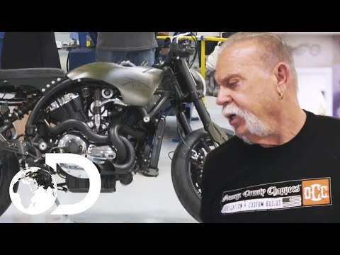 The Process Of Building A Bike At Orange County Choppers | American Chopper