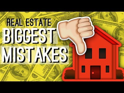 My FIRST YEAR In Real Estate: Biggest Mistakes Made