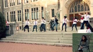 Bollywood Hero Proposal at Georgetown University  November 15 2014