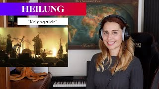 """Heilung """"Krigsgaldr"""" REACTION & ANALYSIS by Vocal Coach/Opera Singer"""