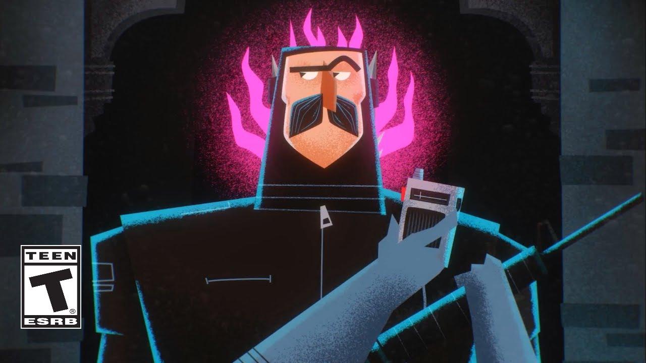 Fortnite Animated Comic Movie..