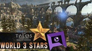 The Talos Principle: Road to Gehenna DLC - Part 7: World 3 Stars