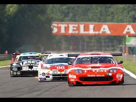 24h Spa 2002: The start (Part 1) Ferrari 550, Lister Storm, Viper, Porsche,... Pure sound!