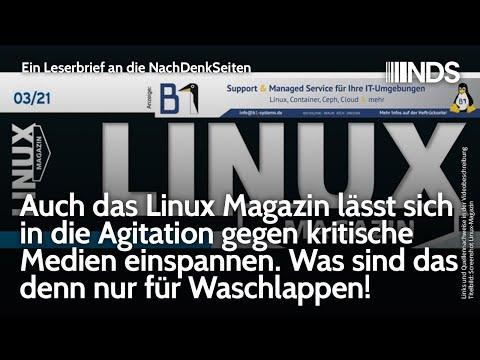 Auch das Linux Magazin lässt sich in die Agitation gegen kritische Medien einspannen