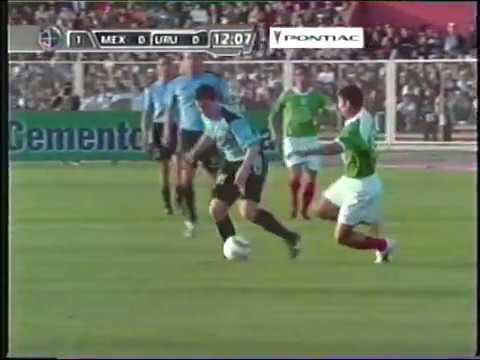 Uruguay vs México-Copa América 2004-partido completo.