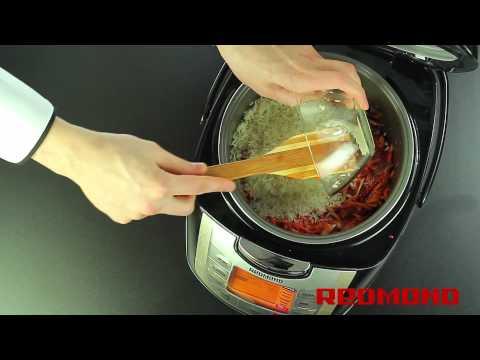 Рецепты от Redmond: Плов со свининой (Мультиварка RMC-M4502 White)