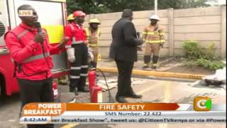Power Breakfast: Fire Safety