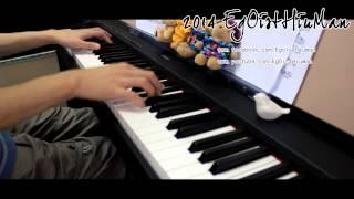 Repeat youtube video 「Tokohana」(トコハナ) Black Bullet (ブラック・ブレット) ED Piano arr.EgOistHiuMan HQ