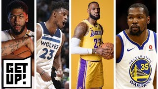 Durant or Davis? Stephen A., Jalen debate the best fit with LeBron and Lakers | First Take | ESPN