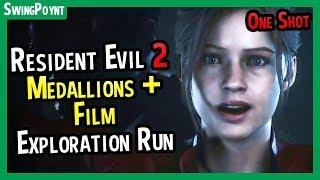 Resident Evil 2 One Shot Demo - Medallions + Dark Room Film - (Resident Evil 2 Remake Demo Guide)