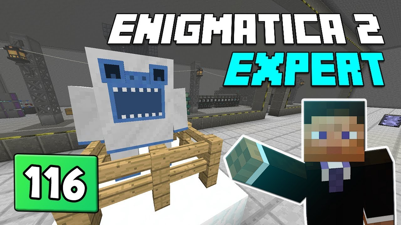 Enigmatica 2: Expert Mode - EP 116 Bob steals the show