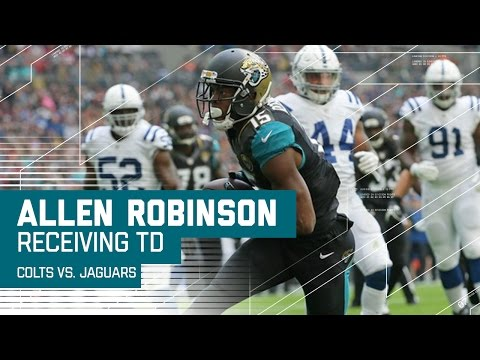 Blake Bortles Hits Allen Robinson for Six After Luck Throws Pick | Colts vs. Jaguars | NFL in London