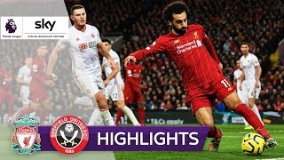 Salah & Mané treffen weiter | FC Liverpool - Sheffield United 2:0 | Highlights - Premier League