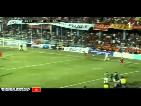 Montenegro vs Poland (World Cup - Qualification ...7 september 2012 ...RTCG)
