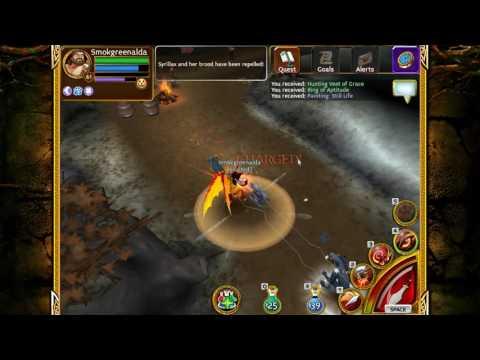 Defeating Krampus In Elite Yrda Forest Arcane Legends