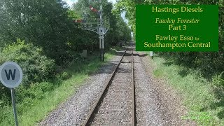 Fawley Esso to Southampton Central — Hastings DEMU cab ride — 13 May 2017