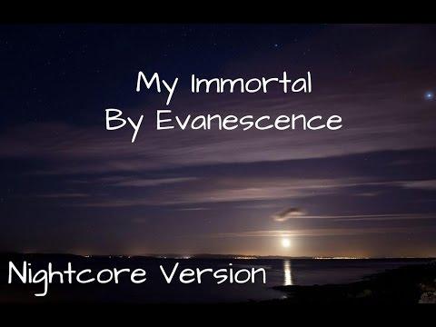 My Immortal by Evanescence ~ Nightcore ~ Lyrics