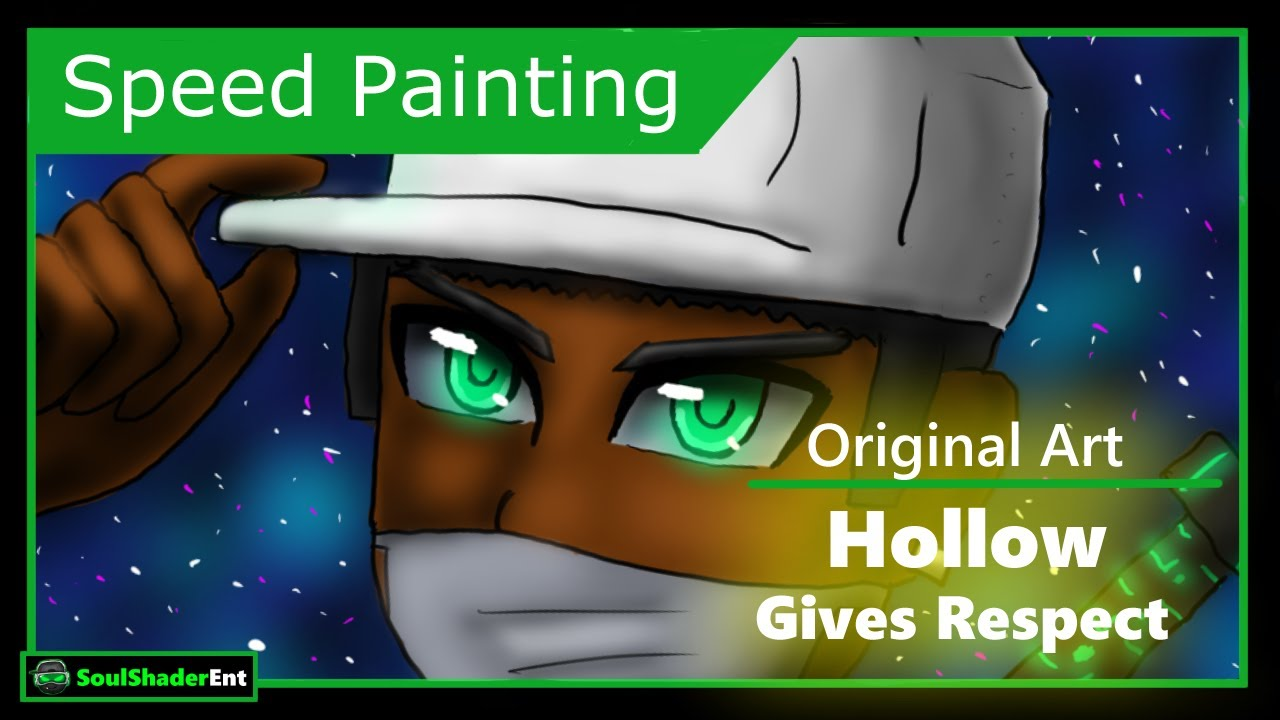 ❇️Hollow Gives Respect Speed Drawing