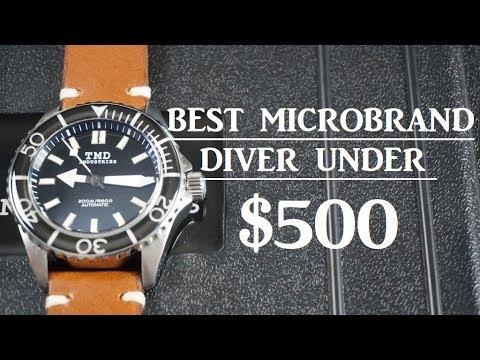 BEST MICROBRAND DIVER UNDER $500?! - TMD Industries DW-171 Mark l