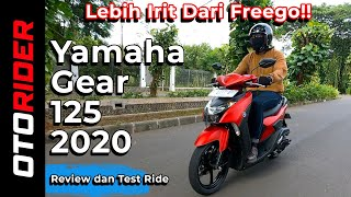 Yamaha Gear 125 S Version - Review dan Test Ride | Indonesia | OtoRider