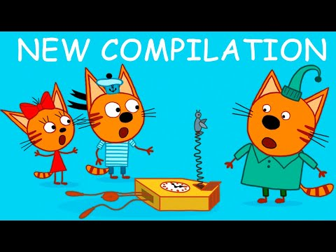 Kid-E-Cats | Funny Episodes Compilation | Best cartoons for Kids 2021