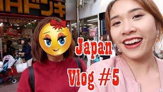 Japan Vlog #5: Gặp người lạ mà quen 😜 - Ăn chơi bữa cuối :((