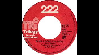222 - Bang A Gong (Get It On) (T. Rex Cover)