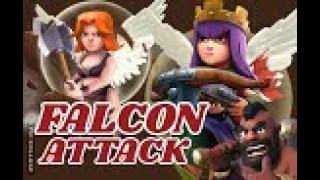 FALCON ATTACK  (QW+VALKS)  CK/CW RH10/TH10 vs. TH10 | 3 Sterne | COC | Clash of Clans DEUTSCH/GERMAN
