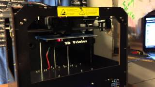CTC 3D Printer Dual Extruder (Black) initial impressions and overview of features.