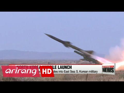 N. Korea fires two ballistic missiles into East Sea: S. Korean military