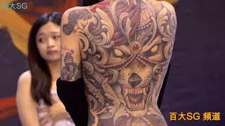 MAKANI TERROR  2018 TAIWAN TATTOO CONVENTION 台灣國際紋身藝術展 刺青展 最佳彩色大圖 thumbnail