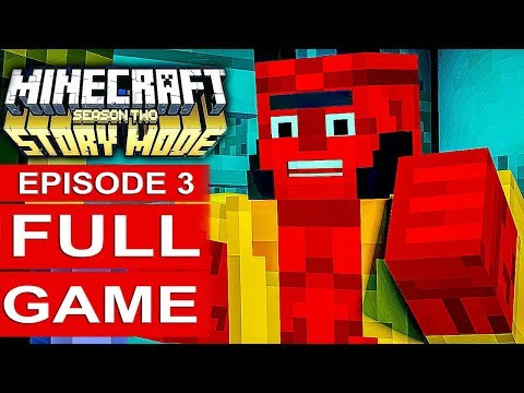 MINECRAFT STORY MODE SEASON 2 EPISODE 3 Gameplay Walkthrough Part 1 FULL GAME - No Commentary