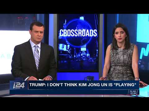 CROSSROADS  With Shayna Estulin and David Shuster  Friday April 27th 2018