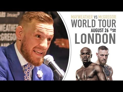 "Thumbnail: Conor McGregor ""THE LITTLE B*STED LOOKS ALRIGHT AT 40"" vs Floyd Mayweather 