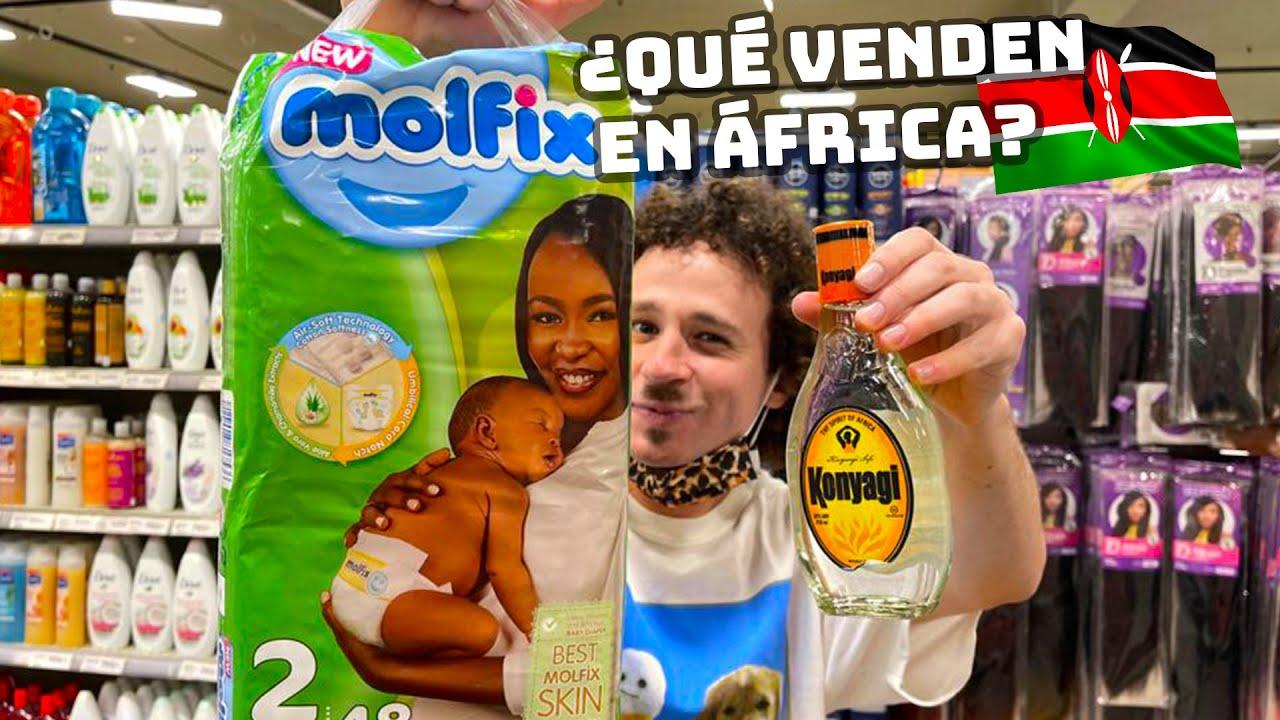Visitando un supermercado en KENIA | ¿Qué compra la gente africana? 🇰🇪🛒