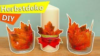 DIY Inspiration Challenge #132   DIY Herbstdeko mit Kerzen   Evas Sonntags Challenge