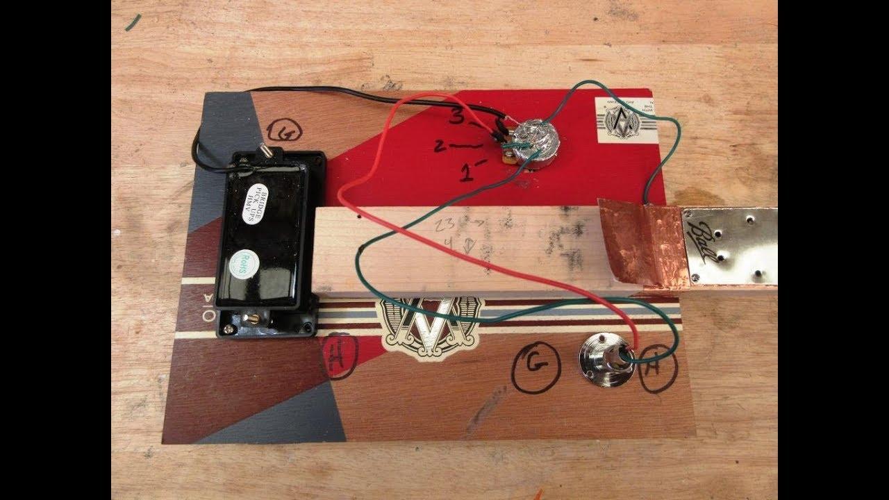 wiring a coil pickup [ 1280 x 720 Pixel ]