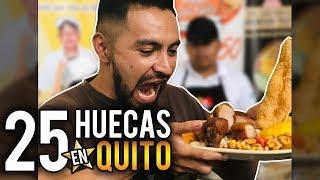 25 HUECAS EN QUITO-COMPARTE Y GÁNATE UNA ORDEN DE COMIDA