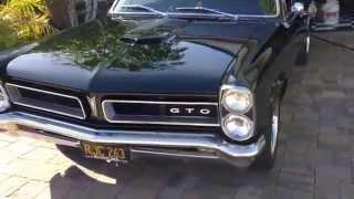 65 Pontiac GTO idling