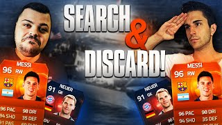 UNA BATTAGLIA INCREDIBILE! - SEARCH AND DISCARD [MESSI MOTM, NEUER RB]