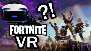 VIRTUAL REALITY FORTNITE?! - PSVR - Rec Room