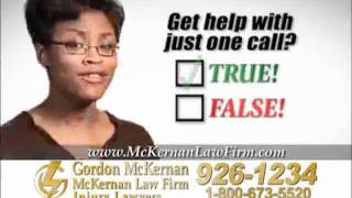 Louisiana Car Wreck Attorney - GORDON MCKERNAN Baton Rouge Personal Injury Lawyer