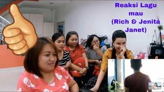 Download Reaksi lagu mau (Rich Estranged Ft..Jenita Janet) Mp3
