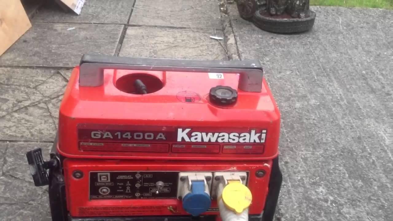 Kawasaki Generator manual on